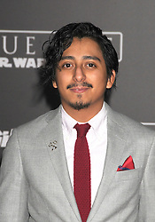 December 10, 2016 - Los Angeles, CA, United States of America - Tony Revolari arriving at the Star Wars ''Rogue One'' World Premiere at the Pantages Theater on December 10 2016 in Hollywood, CA  (Credit Image: © Famous/Ace Pictures via ZUMA Press)