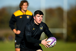 Sam Spink of Wasps during training ahead of the European Challenge Cup fixture against SU Agen - Mandatory by-line: Robbie Stephenson/JMP - 18/11/2019 - RUGBY - Broadstreet Rugby Football Club - Coventry , Warwickshire - Wasps Training Session