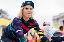 Tiffany Cromwell (CANYON//SRAM Racing) signs in at Aviva Women's Tour 2016 - Stage 4. A 119.2 km road race from Nottingham to Stoke-on-Trent, UK on June 18th 2016.