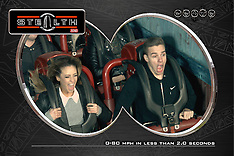 Liam Payne with Danielle Peazer riding Stealth