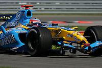 Fernando Alonso, USGP, 2005