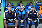 Reading first team manager Steve Clarke during the Sky Bet Championship match between Reading and Brighton and Hove Albion at the Madejski Stadium, Reading, England on 31 October 2015.