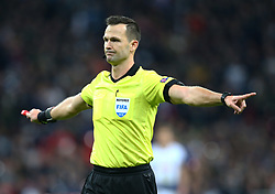 November 6, 2018 - London, England, United Kingdom - London, England - November 06, 2018.Referee.Ivan Kruzliak.during Champion League Group B between Tottenham Hotspur and PSV Eindhoven at Wembley stadium , London, England on 06 Nov 2018. (Credit Image: © Action Foto Sport/NurPhoto via ZUMA Press)
