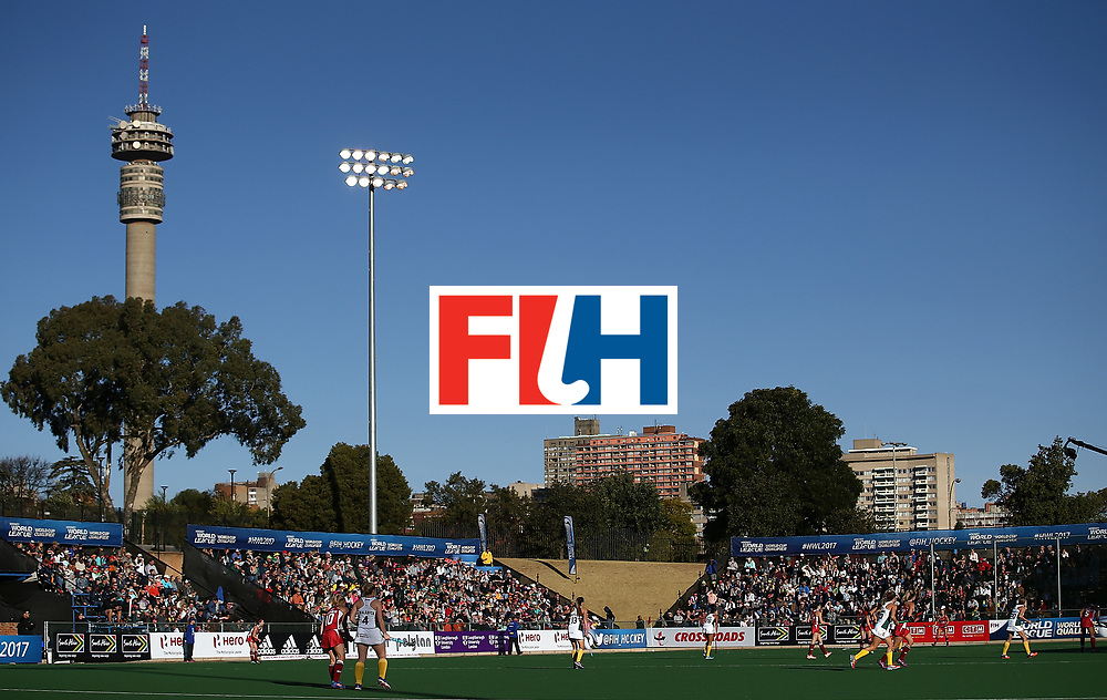 JOHANNESBURG, SOUTH AFRICA - JULY 16:  A general view during day 5 of the FIH Hockey World League Women's Semi Finals Pool B match between South Africa and United States of America at Wits University on July 16, 2017 in Johannesburg, South Africa.  (Photo by Jan Kruger/Getty Images for FIH)
