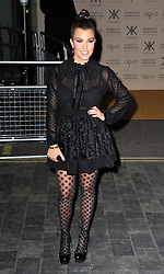 Kourtney Kardashian during the launch of the Kardashians' new clothing and handbag range for Dorothy Perkins, before it goes on sale in 250 stores across the UK, Aqua, London, United Kingdom, November 8, 2012. Photo by Nils Jorgensen / i - Images.