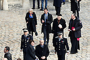 TRIBUTE TO THE VICTIMS OF 13 November 2015 in PARIS<br /> Elisabeth Guigou and Cardinal André Vingt-Trois<br /> ©Exclusivepix Media