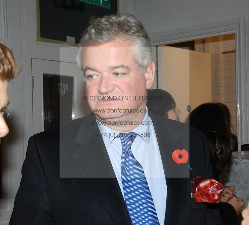 GAVIN RANKIN at the opening party for Tom's Kitchen - the restaurant of Tom Aikens at 27 Cale Street, London SW3 on 1st November 2006.<br /><br />NON EXCLUSIVE - WORLD RIGHTS