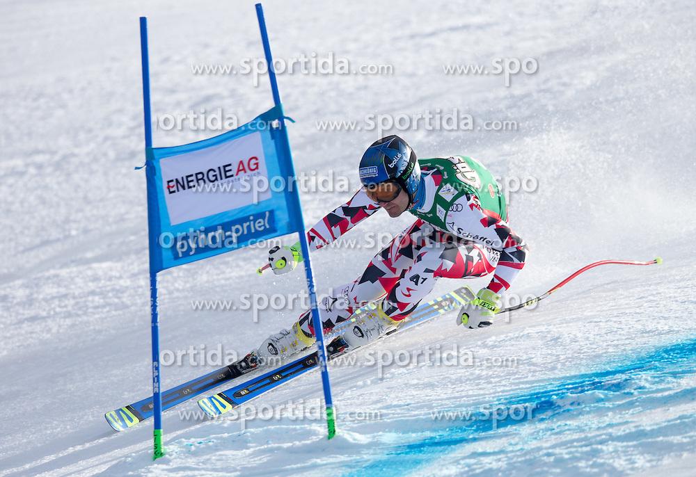 27.02.2016, Hannes Trinkl Rennstrecke, Hinterstoder, AUT, FIS Weltcup Ski Alpin, Hinterstoder, Super G, Herren, im Bild Patrick Schweiger (AUT) // Patrick Schweiger of Austria competes during his run of men's Super G of Hinterstoder FIS Ski Alpine World Cup at the Hannes Trinkl Rennstrecke in Hinterstoder, Austria on 2016/02/27. EXPA Pictures © 2016, PhotoCredit: EXPA/ Johann Groder