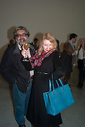 ALI VIRANI; IRINA BORKAKOVA, Editor of Wallpaper: Tony Chambers and architect Annabelle Selldorf host drinks to celebrate the collaboration between the architect and three of Savile Row's finest: Hardy Amies, Spencer hart and Richard James. Hauser and Wirth Gallery. ( Current show Isa Genzken. ) savile Row. London. 9 January 2012.