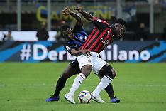 FC Internazionale v AC Milan - 21 Oct 2018