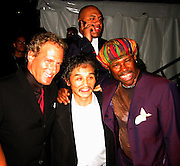 Michael Bolton, Rocky &Nile Rodgers.Smock Magazine Launch Party.South Street Seaport.New York, NY.June 26, 2001.Photo By CelebrityVibe.com..
