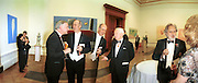Maureen Paley, Sadie Coles, Sir Timothy Clifford director of  Scottish gallery, Charles Saumarez Smith (twice) ? and Lord Puttnam. Royal Academy annual dinner. Royal Academy. Picadilly. 30 May 2002. © Copyright Photograph by Dafydd Jones 66 Stockwell Park Rd. London SW9 0DA Tel 020 7733 0108 www.dafjones.com