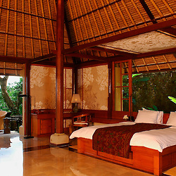 The Amandari Suite at the Aman resort in Ubud, Bali.