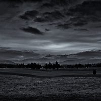 Sequim, WA, mountain view<br />