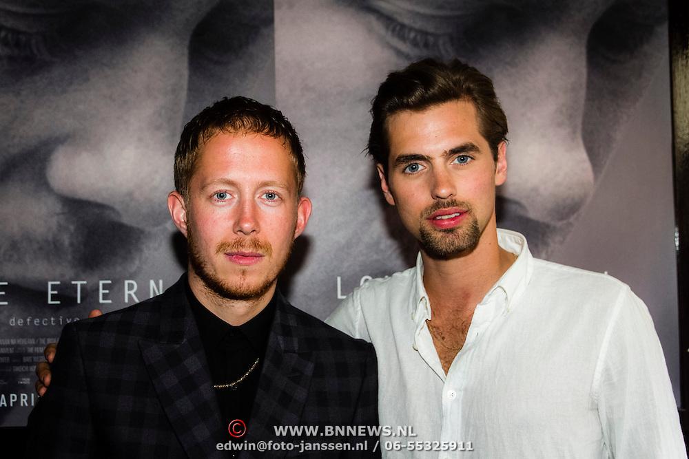 NLD/Amsterdam/20140422 - Premiere Love Eternal, Robert de Hoog en Manuel Broekman