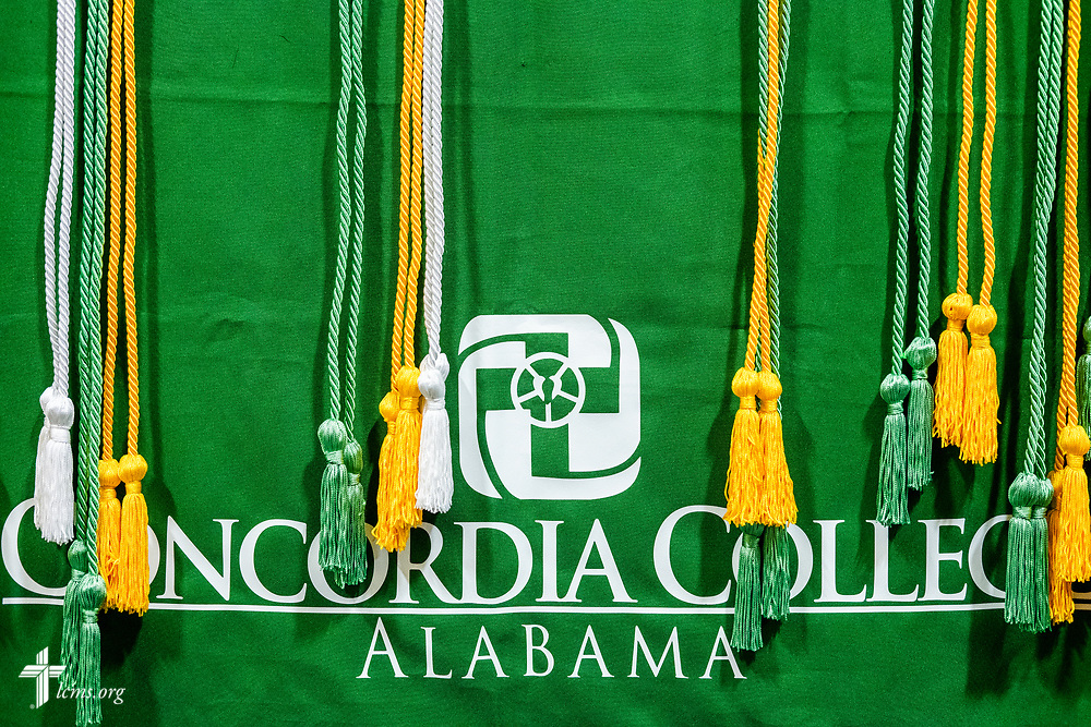 Photographs from the Class of 2018 Graduation & Awards Banquet in the Julius and Mary Jenkins Center on Thursday, April 26, 2018, at Concordia College Alabama in Selma, Ala. LCMS Communications/Erik M. Lunsford