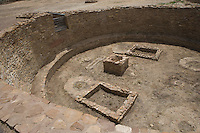 Kiva at Pueblo Bonito, Chaco Canyon NHS, New Mexico