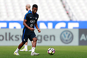 France's midfielder Thomas Lemar takes part in a training of the team of France before the Friendly Game between France and England on June 12, 2017 at Stade de France in Saint-Denis, France - Photo Benjamin Cremel / ProSportsImages / DPPI