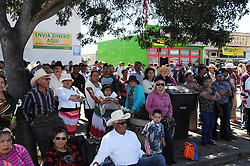 "Sunday's crowds along East Alisal Street in Salinas celebrated the symbolic beginning of Mexico's revolution against Spanish rule, with an afternoon long fiesta culminating in the reenactment of ""El Grito,"" or ""The Cry of Independence."""