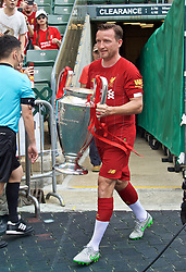 HONG KONG, CHINA - Saturday, June 8, 2019: Liverpool Legends' Vladimir Smicer with the European Cup during an exhibition match between Liverpool FC Legends and Borussia Dortmund Legends at the Hong Kong Stadium. (Pic by Jayne Russell/Propaganda)