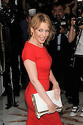 24.JULY.2012. LONDON<br /> <br /> KYLIE MINOGUE ATTENDS A VIEWING OF NEW ART INSTALLATION 'WARHOL/MAURO' AT THE HALCYON GALLERY ON NEW BOND STREET, MAYFAIR.<br /> <br /> BYLINE: EDBIMAGEARCHIVE.CO.UK<br /> <br /> *THIS IMAGE IS STRICTLY FOR UK NEWSPAPERS AND MAGAZINES ONLY*<br /> *FOR WORLD WIDE SALES AND WEB USE PLEASE CONTACT EDBIMAGEARCHIVE - 0208 954 5968*