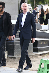 Jean Claude Jitrois attending the funeral ceremony of French designer Sonia Rykiel at the Montparnasse cemetery in Paris, France on September 1, 2016. The 86 years old pioneer of Parisian womenswear from the late 1960's onwards, has died from a Parkinson's disease-related illness. Photo by ABACAPRESS.COM