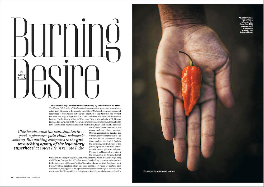 On the trail of the world's hottest pepper with novelist Mary Roach in Nagaland, India.