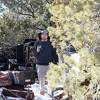 Attorney Brendan O'Reilly films all of the junk left around the Aggressive Christianity Missions Training Corps (ACMTC) compound in Fence Lake Feb. 27th, 2019.