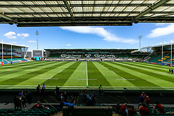 Franklin's Gardens, home of Northampton Saints plays host to the second day of The Premiership Rugby 7s - Mandatory by-line: Robbie Stephenson/JMP - 28/07/2018 - RUGBY - Franklin's Gardens - Northampton, England - Wasps 7s v Northampton Saints 7s - Premiership Rugby 7s Cup Quarter Final 1