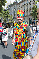 """The Brazilian Cultural Festival """"Washing of the Madeleine"""" is held annually in September in Paris"""