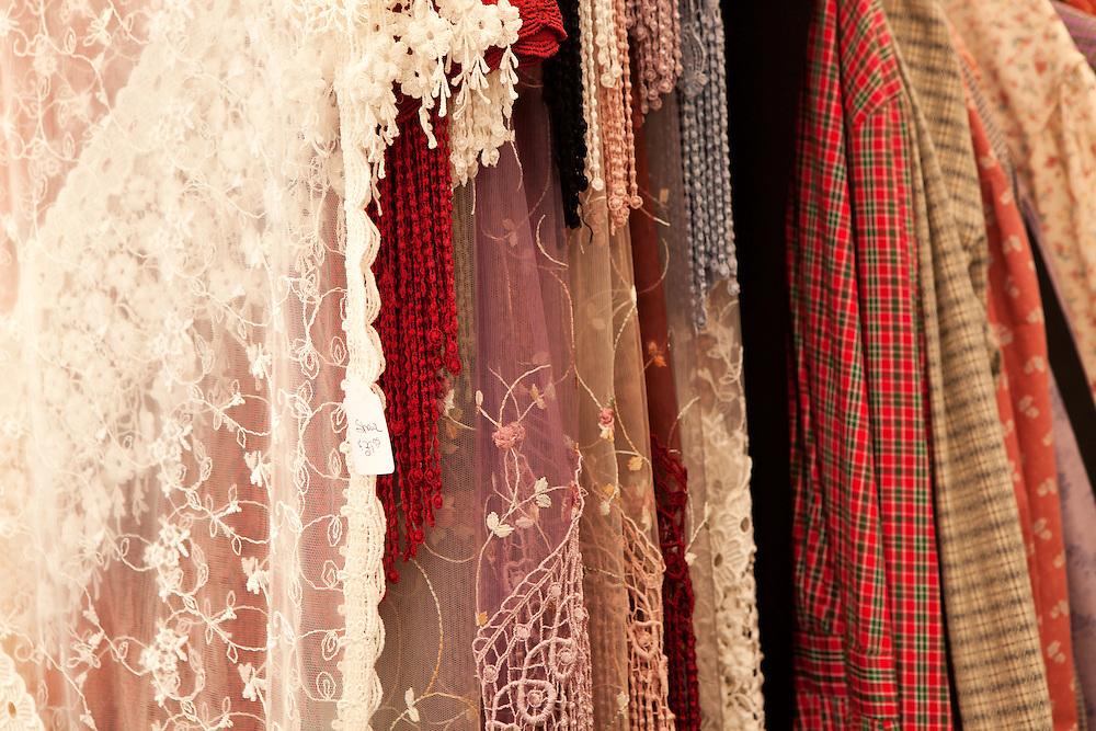 US Civil War Period Clothing Display