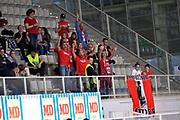 pesaro tifosi<br /> Dolomiti Energia Aquila Basket Trento - Consultinvest Victoria Libertas Pesaro<br /> Lega Basket Serie A 2016/2017<br /> Trento, 26/03/2017<br /> Foto M. Ceretti / Ciamillo - Castoria