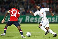 FOOTBALL - UEFA CHAMPIONS LEAGUE 2011/2012 - GROUP STAGE - GROUP B - LILLE OSC v CSKA MOSCOW - 14/09/2011 - PHOTO CHRISTOPHE ELISE / DPPI - SILVA VAGNER LOVE (CSKA MOSCOW)