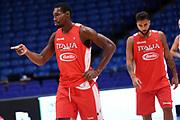 Paul Stephane Biliga<br /> Nazionale Italiana Maschile Senior<br /> Eurobasket 2017 - Group Phase<br /> Israele Italia Israel Italy<br /> FIP 2017<br /> Tel Aviv, 31/08/2017<br /> Foto M.Ceretti / Ciamillo - Castoria