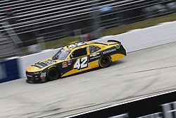 October 5, 2018 - Dover, Delaware, United States of America - John Hunter Nemechek (42) takes to the track for the Bar Harbor 200 at Dover International Speedway in Dover, Delaware. (Credit Image: © Justin R. Noe Asp Inc/ASP via ZUMA Wire)