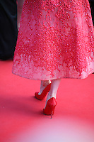 Dita Von Teese's red shoes at the 'Behind The Candelabra' gala screening at the Cannes Film Festival  Tuesday 21 May 2013