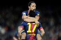 Adriano - Pedro Rodriguez ( FC Barcelone )