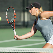 01 October 2016: The San Diego State Aztecs women's tennis team seen here during day two of the Fall Classic hosted by SDSU.  www.sdsuaztecphotos.com