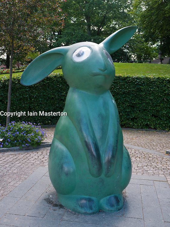 Modern art sculpture  in city of Boras Sweden