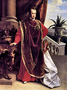 Ferdinand I (19 April 1793 – 29 June 1875) was Emperor of Austria, President of the German Confederation, King of Hungary and Bohemia (as Ferdinand V), as well as associated dominions from the death of his father, Francis II, Holy Roman Emperor, until his abdication after the Revolutions of 1848.