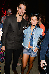 DAVID GANDY and BIP LING at the Carrera Ignition Night at The House of St.Barnabas, Soho, London on 20th June 2013.