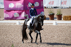George Michele, BEL, Fusion Old<br /> FEI European Para Dressage Championships - Goteborg 2017 <br /> © Hippo Foto - Dirk Caremans<br /> 21/08/2017,
