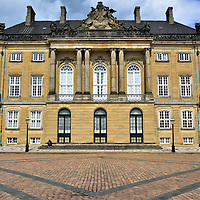 Christian VIII&rsquo;s Palace in Copenhagen, Denmark<br />
