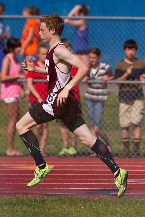 Dan Curts, boys 3200 meters, Maine State Track & FIeld Meet - Class B