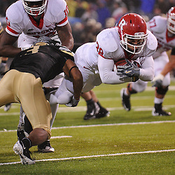 Oct 23, 2009; West Point, N.Y., USA; Rutgers running back Joe Martinek (38) dives into the end zone during Rutgers' 27 - 10 victory over Army at Michie Stadium.