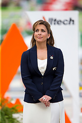 HRH Princess Haya bint Al Hussein - Show Jumping Final Four - Alltech FEI World Equestrian Games™ 2014 - Normandy, France.<br /> © Hippo Foto Team - Leanjo de Koster<br /> 07-09-14
