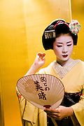 Private kaiski dinner with maiko and geisha.