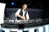 11 April 2008:  International Disc Jockey - DJ Bob Sinclar spins music at the Guess One World One Brand Meetings 2008 at the Beverly Hilton in Los Angeles, California. USA.