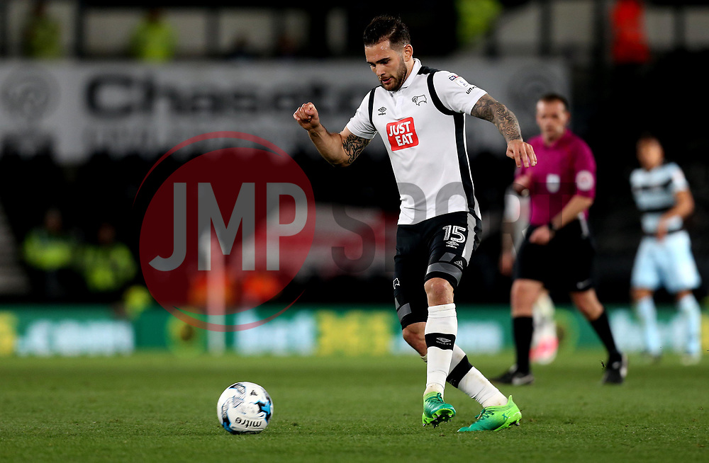 Bradley Johnson of Derby County - Mandatory by-line: Robbie Stephenson/JMP - 31/03/2017 - FOOTBALL - iPro Stadium - Derby, England - Derby County v Queens Park Rangers - Sky Bet Championship