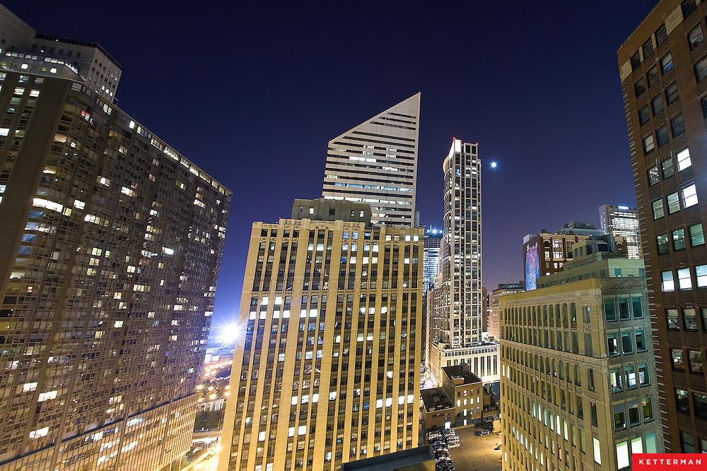Downtown Chicago, Illinois.